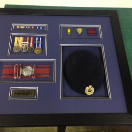 War medal's and Cap